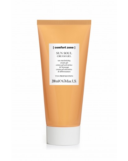 YCZS - COMFORT ZONE - SUN SOUL CREAM GEL TAN MAXIMIZER
