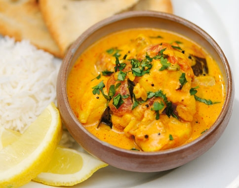 2. AUTHENTIC INDIAN YELLOW CURRY
